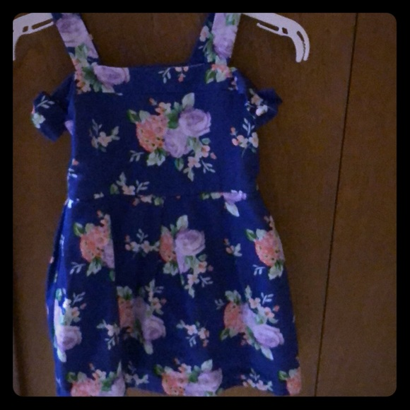 Janie and Jack Other - Janie and Jack blue floral dress.